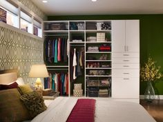 Wardrobes that Wow | Home Remodeling - Ideas for Basements, Home Theaters & More | HGTV