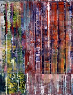 Colorful art by Gerhard Richter - Art Abstract - Painting New European Painting, Gerhard Richter Painting, Abstract Pictures, San Francisco Museums, Jackson Pollock, Art Moderne, Museum Of Modern Art, Henri Matisse, Art Plastique