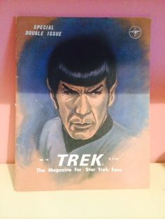 Items similar to Trek Special : The Magazine for Star Trek Fans Issue No. 19 - Special Double Issue (Fall on Etsy For Stars, Star Trek, Fans, Magazine, Baseball Cards, Handmade Gifts, Etsy, Vintage, Kid Craft Gifts