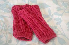 Alli Crafts: Free Pattern: Infant Leg Warmers