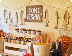 Gone Fishin' Birthday Party   CatchMyParty.com