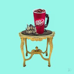 """Check out new work on my @Behance portfolio: """"The ice Dr.Pepper is ringing."""" http://on.be.net/1IaNPGq"""