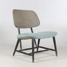 """Bilder för 447789. STOL, """"Te-Ve"""", Alf Svensson, Studio, Ljungs Industrier AB, formgiven 1953. – Auctionet"""