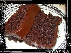 Olga's cuisine...και καλή σας όρεξη!!!: Σοκολατένιο υγρό κέικ με γλάσο