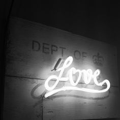 Dept of Love.in neon Rauch Fotografie, All You Need Is Love, My Love, Neon Words, Neon Glow, Hopeless Romantic, Neon Lighting, Love Heart, Wise Words