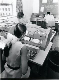 Vintage computing.