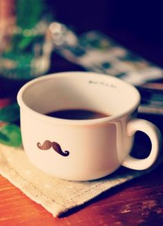 coffee moustache