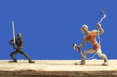 Dragon's Lair stop-motion animation -  Justin Rasch