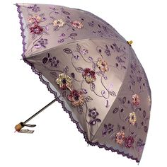 Amazon.com: Sunny World Ladies UV Protected Parasol Two Folding Anti-UV Sun Umbrella Fashion Lace Embroidery Vine Flowers (Rose red): Patio, Lawn & Garden