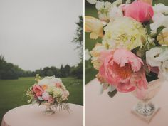 A Whimsical Backyard Wedding: definately my colors
