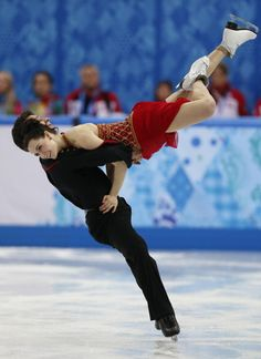 Scott Moir and Tessa Virtue - Team Free Dance - Sochi 2014