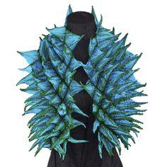 Katayama Shibori Silk Scarf, Marine Green – Santa Fe Weaving Gallery Green Santa, Shibori, Santa Fe, Weaving, Batman, Superhero, Silk, Gallery, Pattern