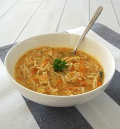 Looking for the perfect winter comfort food? Our Thermomix Chicken Noodle Soup recipe is for you! When I think about classic winter recipes, Chicken Noodle Soup is one of the first recipes which comes to Thermomix Soup, Vegetable Soup Recipes, Chicken Noodle Soup, Noodle Soups, Winter Food, Fall Winter, Food Print, Noodles, Ethnic Recipes