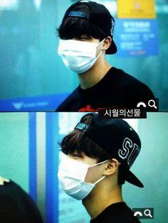 BTS @ 150615 Incheon Airport on their way to KPOP CONCERT LIVE IN YANGON - MYANMAR