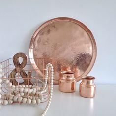 Home Decorating DIY Projects: copper - Decor Object Copper Blush, Copper Rose, Decorative Accessories, Home Accessories, Copper Accessories, Copper Interior, Diy Interior, Modern Interior, Interior Design
