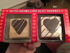 Salted Caramel and Red Velvet Brownies by Asda