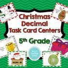 This pack contains several decimal activities with Christmas themes. It is ideal for 5th grade, but can be used as a 4th grade enrichment activity,...