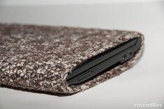 tutorial - crochet laptop/phone sleeve