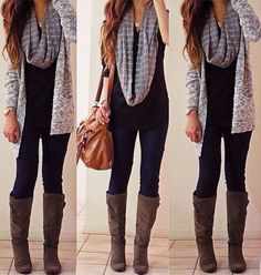 yes. I feel like this is what I look like everyday in Fall... :p