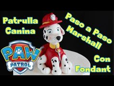 Marshall, Patrulla Canina PAW Patrol con Fondant - TartaFantasía
