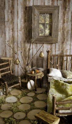 .This would be so fun to do in a shed in a big back yard or garden
