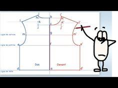 ▶ (Eng sub) Tracer le patron de base pour le petit de 2 à 4 ans - Leçon n° 20 - YouTube