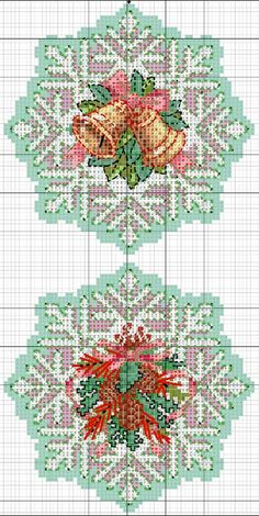 Cardinal bird crafts cross stitch ideas for 2019 Cross Stitch Christmas Ornaments, Xmas Cross Stitch, Cross Stitch Flowers, Christmas Cross, Cross Stitch Charts, Cross Stitching, Cross Stitch Embroidery, Embroidery Patterns, Hand Embroidery