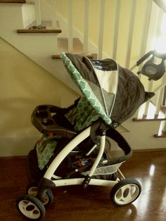 Recover your stroller - pt 2- the Canopy