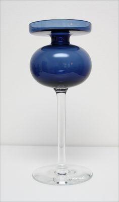 Iittala kynttilänjalka, suunnittelija Erkki Vesanto. Tuotannossa 1965-70