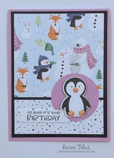 Six Easy Card Layouts for 4 x 6 Papers! — KarenTitus.com Christmas Card Crafts, Christmas Minis, Christmas Cards, Kids Birthday Cards, Stamping Up Cards, Unique Cards, Card Sketches, Winter Holidays, Christmas Holidays