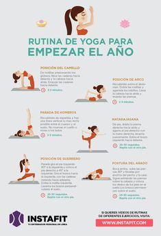 Rutina de yoga para empezar el año