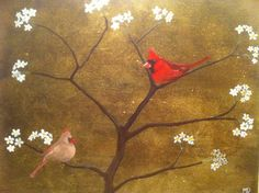 Commissioned Red Cardinals.