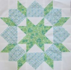 The Swoon Quilt Block