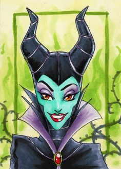 Maleficent-ACEO