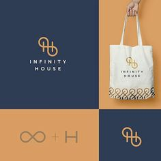 Creative concept - logo design - Need a unique logo for your business? Logo Simple, Unique Logo, Creative Logo, Presentation Logo, Brand Identity Design, Branding Design, Business Logo Design, Logo Infinity, Infinity Symbol