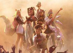 Desenhos League Of Legends, Akali League Of Legends, Champions League Of Legends, League Of Legends Characters, Lol League Of Legends, Female Characters, Ahri Lol, Legend Images, Fanart