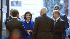 Das schwedische Königspaar besucht die Hamburger Handelskammer. © dpa-Bildfunk Fotograf: Daniel Reinhardt