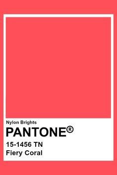 Coral Paint Colors, Coral Colour Palette, Neon Colors, Pantone Color Chart, Pantone Colour Palettes, Pantone Swatches, Color Swatches, Paleta Pantone, Neon Design