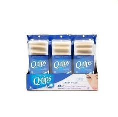 With more cotton at the tip than any other swab, qtips cotton swabs are the perfect on-the-go beauty tool for safely and precisely applying, blending, touching up and removing cosmetics. Q Tip Ear, Sugar Free Candy, Cotton Swab, Ear Wax, Beauty Supply, Face And Body, Nail Care, Biodegradable Products, Health And Beauty