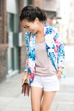 Blazer from Target -- so cute!