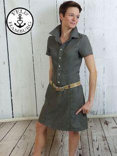 Schnittmuster / Ebook lillesol women No.26 Jeanskleid / Nähen Kleid / Sewing pattern Jeans dress