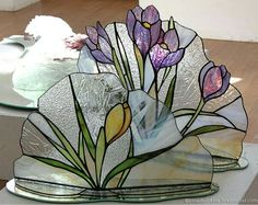 Первоцветы - make these into napkin holders...