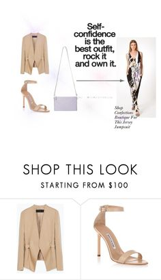 """""""Confections Boutique & Bags"""" by cherea on Polyvore featuring Zara and Manolo Blahnik"""
