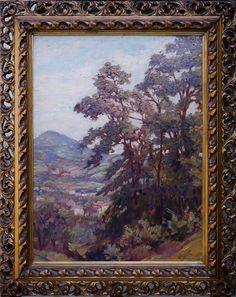 Silvio Travaglia – Il Monte Cero, Euganei Italian Paintings, Art, Craft Art, Kunst
