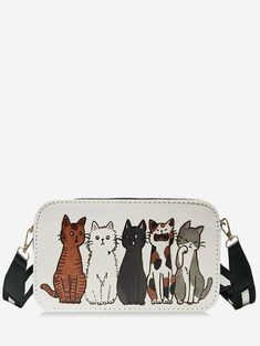 Humble Hottest Small Cat Messenger Bag For Kids Baby Girls Cute Cat Coin Purse Mini Shoulder Bag Children Small Bag Luggage & Bags