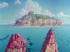 Animation Backgrounds: FLEISCHER STUDIOS