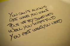 You Can´t Always Get What You Want - Rolling Stones