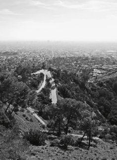 View Griffith Observatoria Planetarium Los Angeles California