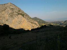 Raganello valley