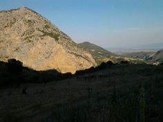 Raganello valley